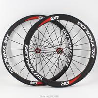Новейший 700C Передний 38 мм + задний 50 мм довод обод дорожный велосипед матовый UD Полный карбоновый велосипед колесная 20,5 23 25 мм ширина бесплат