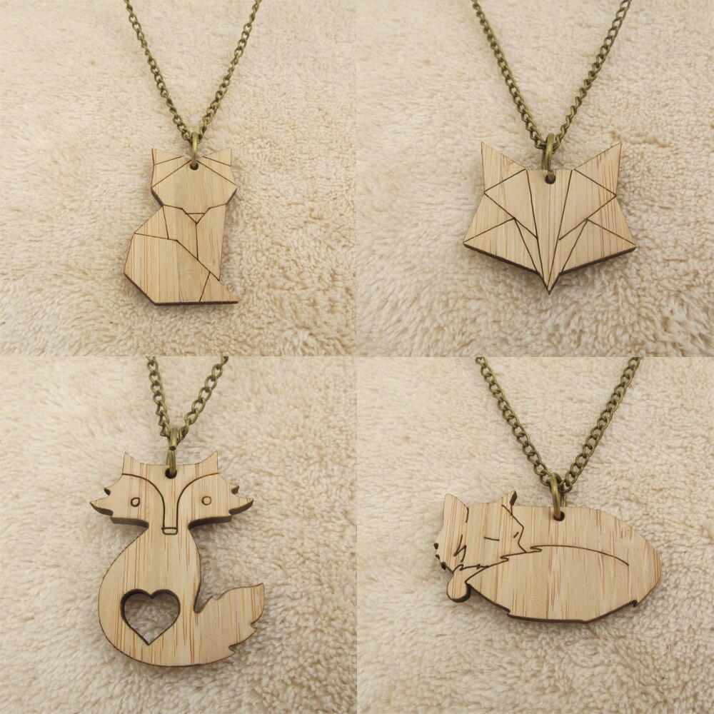wooden jewelry geometric brooch wooden jewellery Wooden origami bear brooch bear jewellery bear brooch handmade brooch