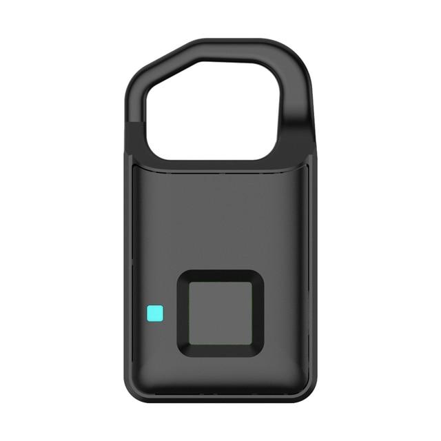 P4 Smart Fingerprint Door Lock Safe USB Charging Waterproof Anti Theft Lock Home Security Safety