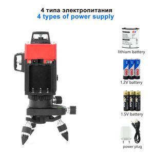 Image 5 - KaiTian 12Lines 3D Laser Level Self Leveling 360 Degre Horizontal Vertical Cross Powerful Level Laser Tool With Outdoor Detector