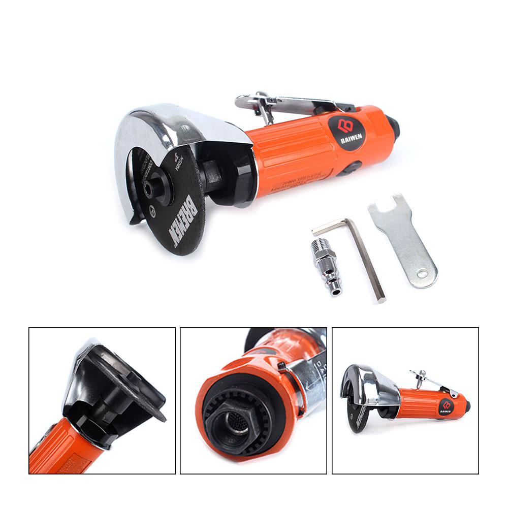 3inch High Speed Mini Pneumatic Air Cut Off Tool Cutting Tool Metal Cutting Body Shop Cutter