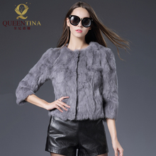 MAOMAOKONG 2018 New Winter Jacket Long Real Fox Fur Coat Raccoon Fur Collar Real Fur
