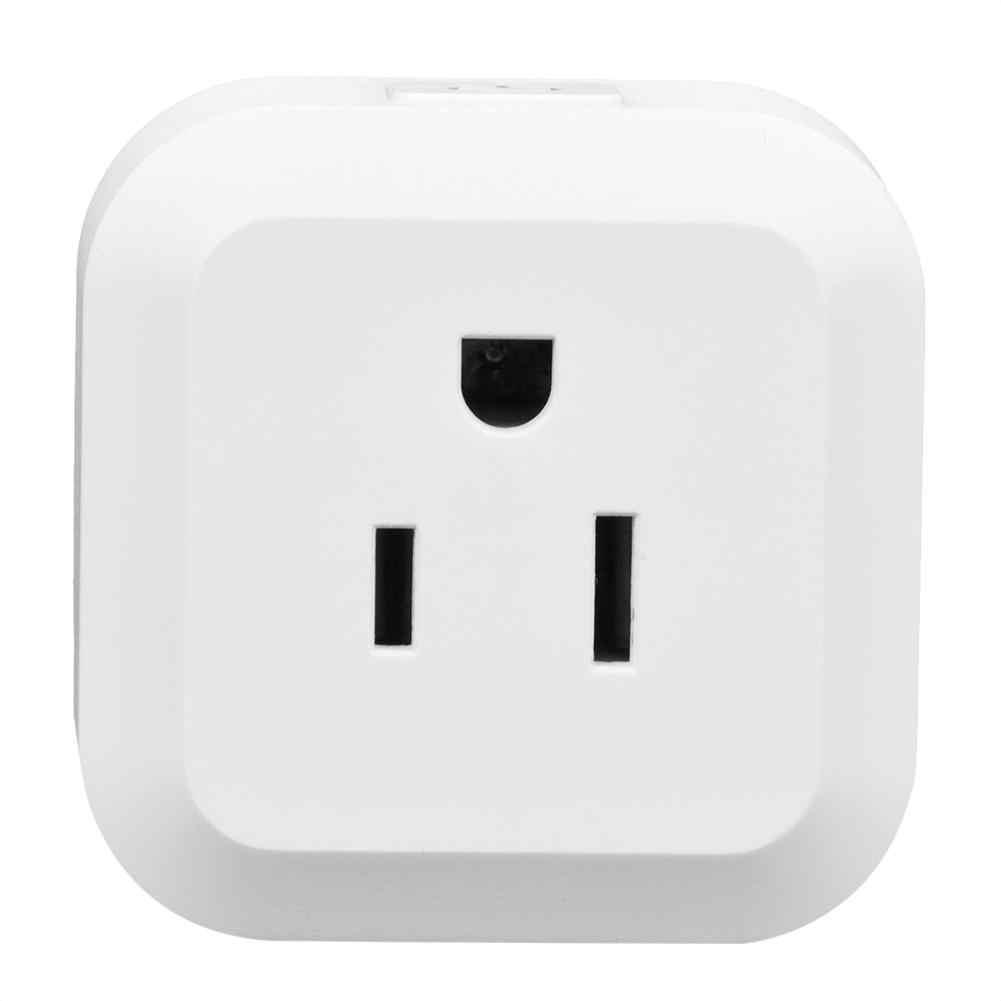 100-250 V Wifi Mini bezprzewodowy inteligentny gniazdo zasilania obsługa głosowa aplikacji zdalnego sterowania urządzenia gospodarstwa domowego Hot