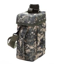New 2L PVC Military Water Bottle Portable Practical Tools for Outdoor Sport Hunting Hiking Camping Travel Kettle Thermal Insulat