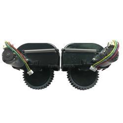 Черный левый + правый руль для робота пылесоса Ilife V3s Pro V5s Pro робот пылесос Запчасти включают Замена двигателя