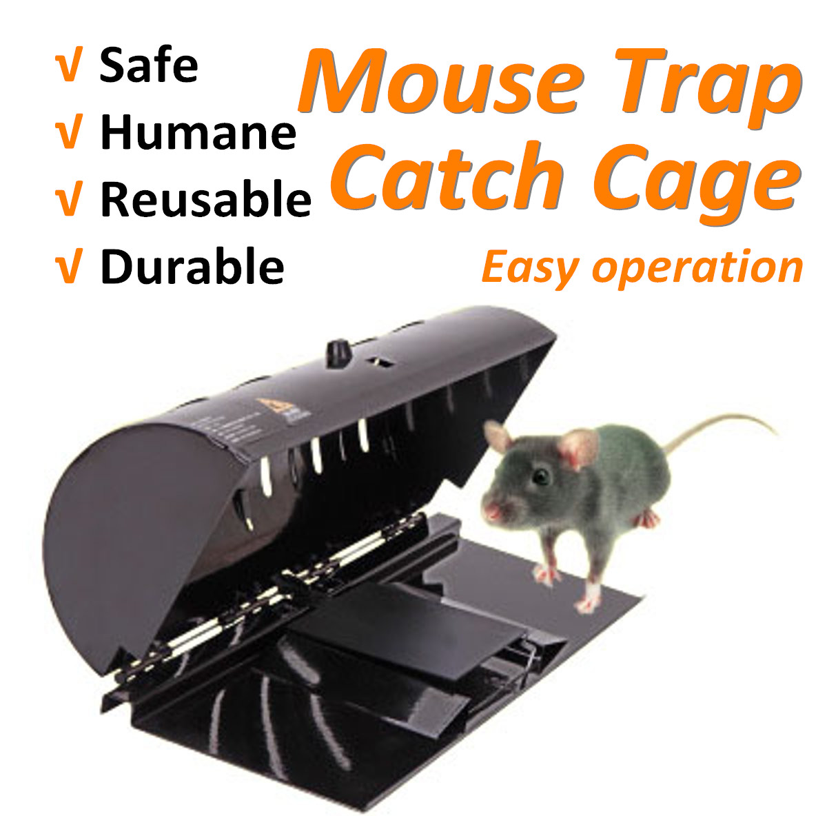 Electric Mouse Rat Trap Mouse Killer Electronic Rodent Mouse