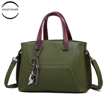 Litchi Leather Bags Designer Handbags Women Shoulder Crossbody Messenger Bag Tote Bolsas Famous Brand