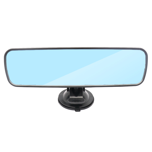 Universal Car Interior Rear View Mirror Suction Cup Wide Angle Interior Rearview Mirror Large Vision Flat Mirror Car Accessories 1
