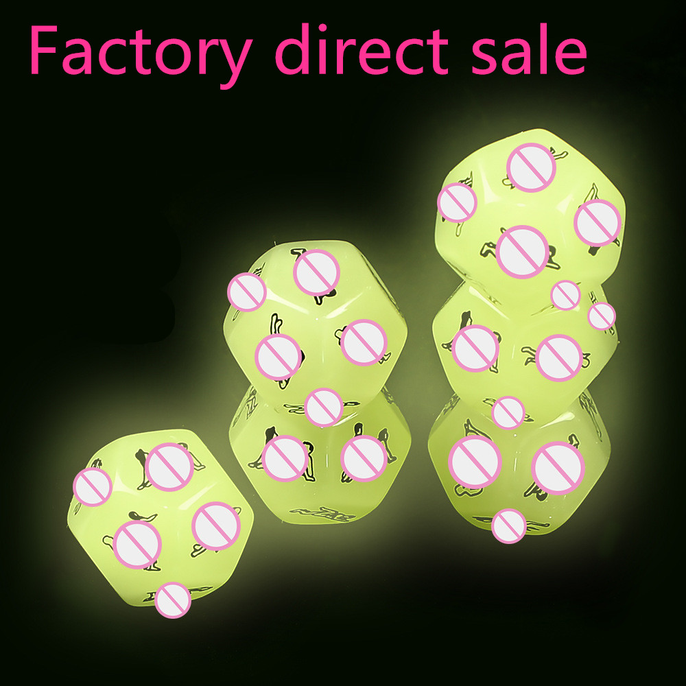 1Pc New Funny Sex Dice Adult Dices 12 Positions Sexy Romance Love Humour Gambling  Erotic Craps Pipe For Couples Bondage