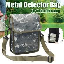 7f9abc25308 Metaaldetector Bag Camo Oxford Taille Schouder Riem Pouch Geluk Gold Nugget  Tassen Voor Metaal Detecteren(