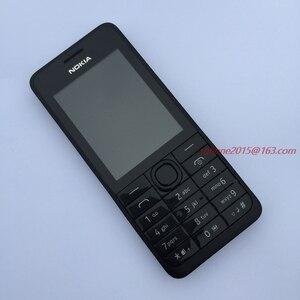 Image 4 - מקורי נוקיה 301 טלפון נייד WCDMA 3MP 2.4 אחת כפולה ה sim כרטיס משופץ הסלולר סמארטפון