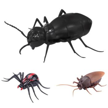 Simulada Broma Control Rc Zlrc Entretenimiento Práctica Juguete Para Remoto Infrarrojascucarachasarañas Animal Bugs Hormigas Fiesta dtrCxhsQB