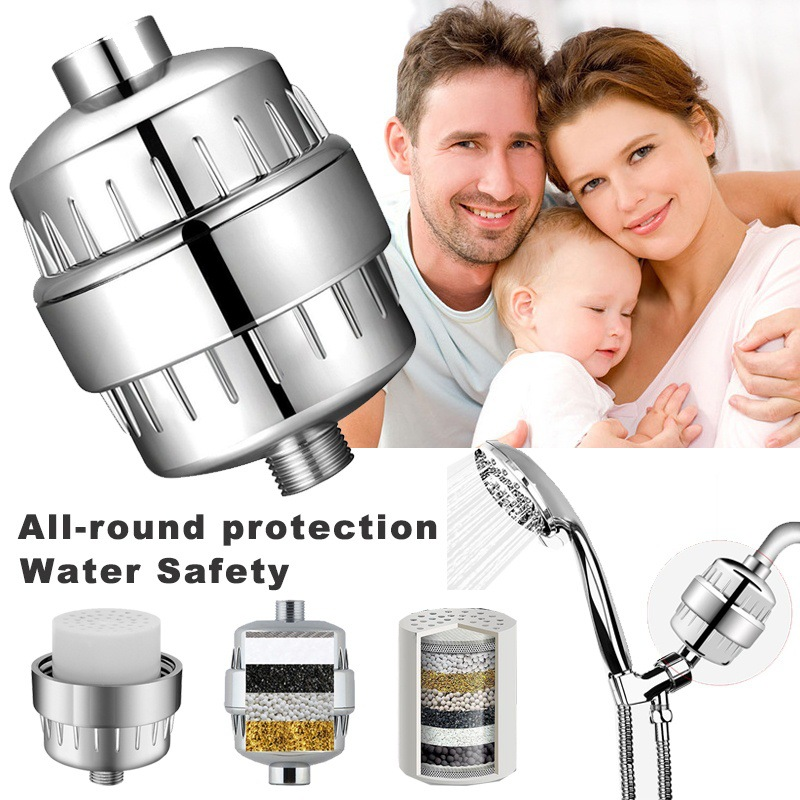 Shower Filter Softener Chlorine Removal Water Purifier Water Strainer For Home Bathroom Kitchen For Health