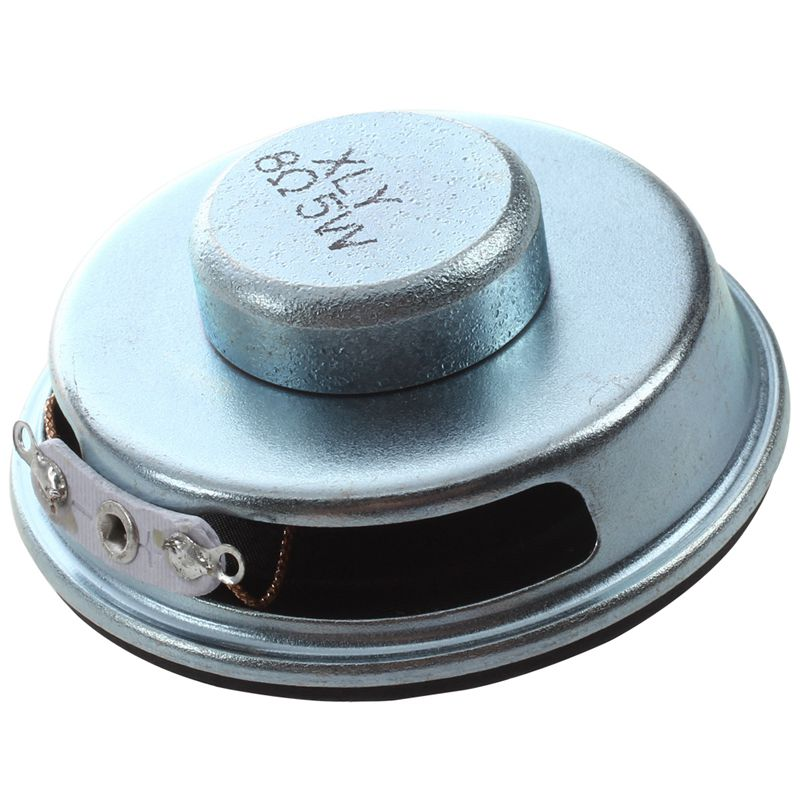 50mm 2inch Dia. Magnetic Type Aluminum Shell Round Speaker 8 Ohm 5W Speaker Accessories With Aluminum Shell