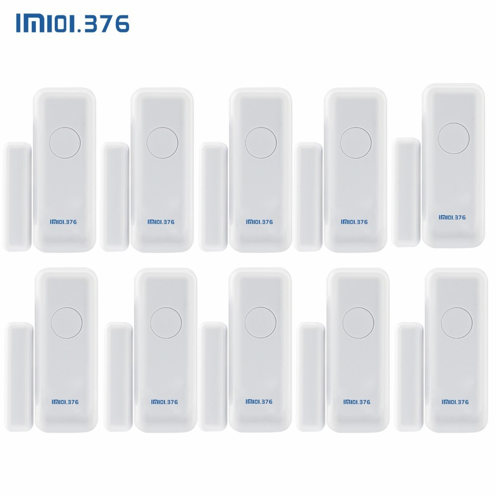 LM101.376 433MHz Wireless Window Door Magnet Sensor Detector For Home Wireless Alarm System