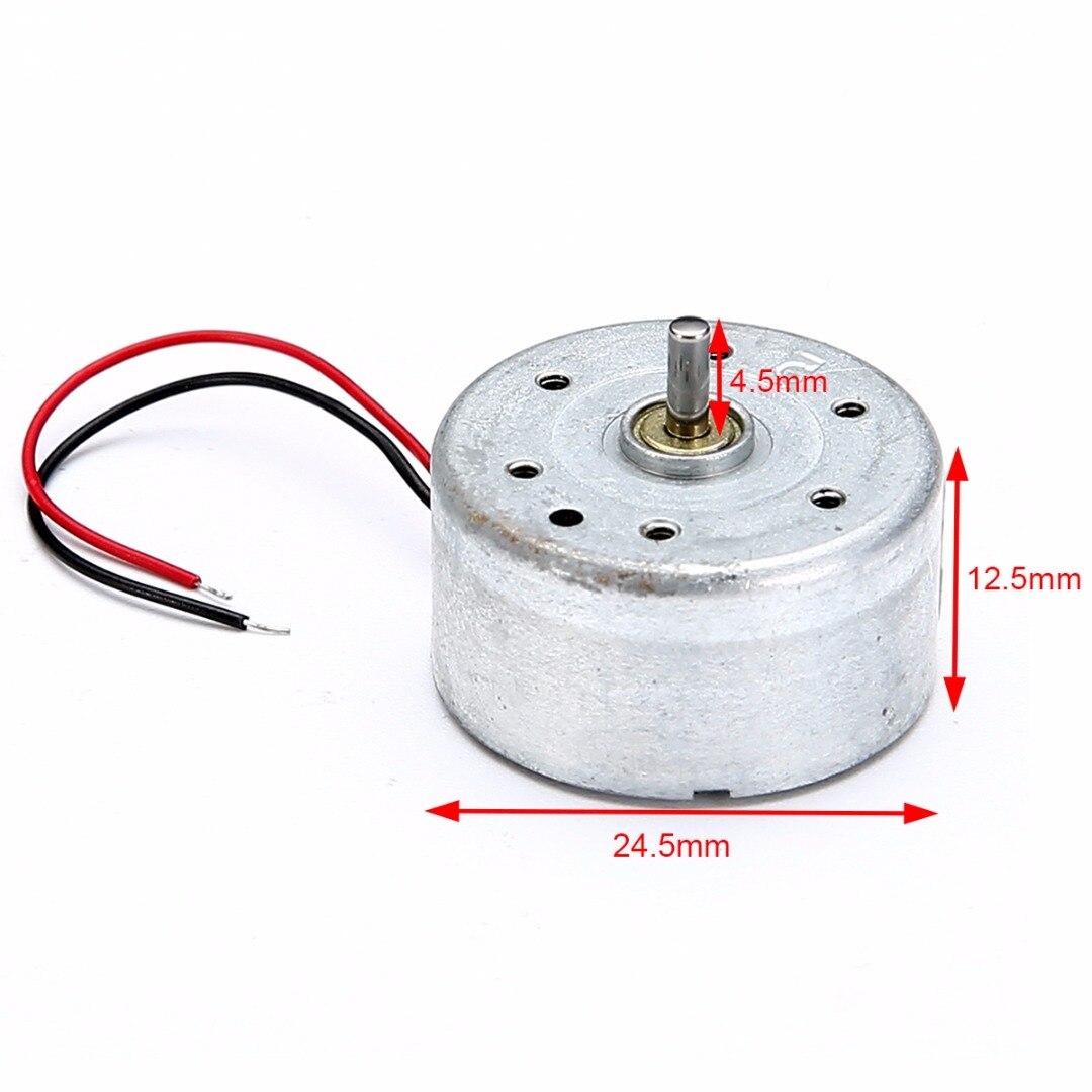 1pc Micro Solar Motor 300 DC 3V 4.5V 5V Motors 3500-7000 Rpm/Min For Scientific Hobby Toys DIY Accessories
