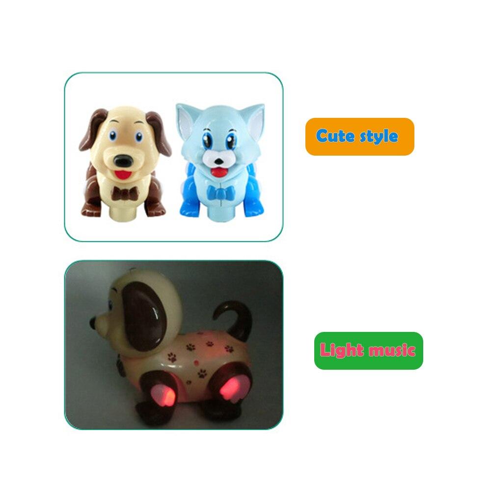 Электрический собака, кошка, игрушка младенческой Brinquedos Bebe электрические универсальные игрушки для детей детская электронная игрушка собака ребенок подарок