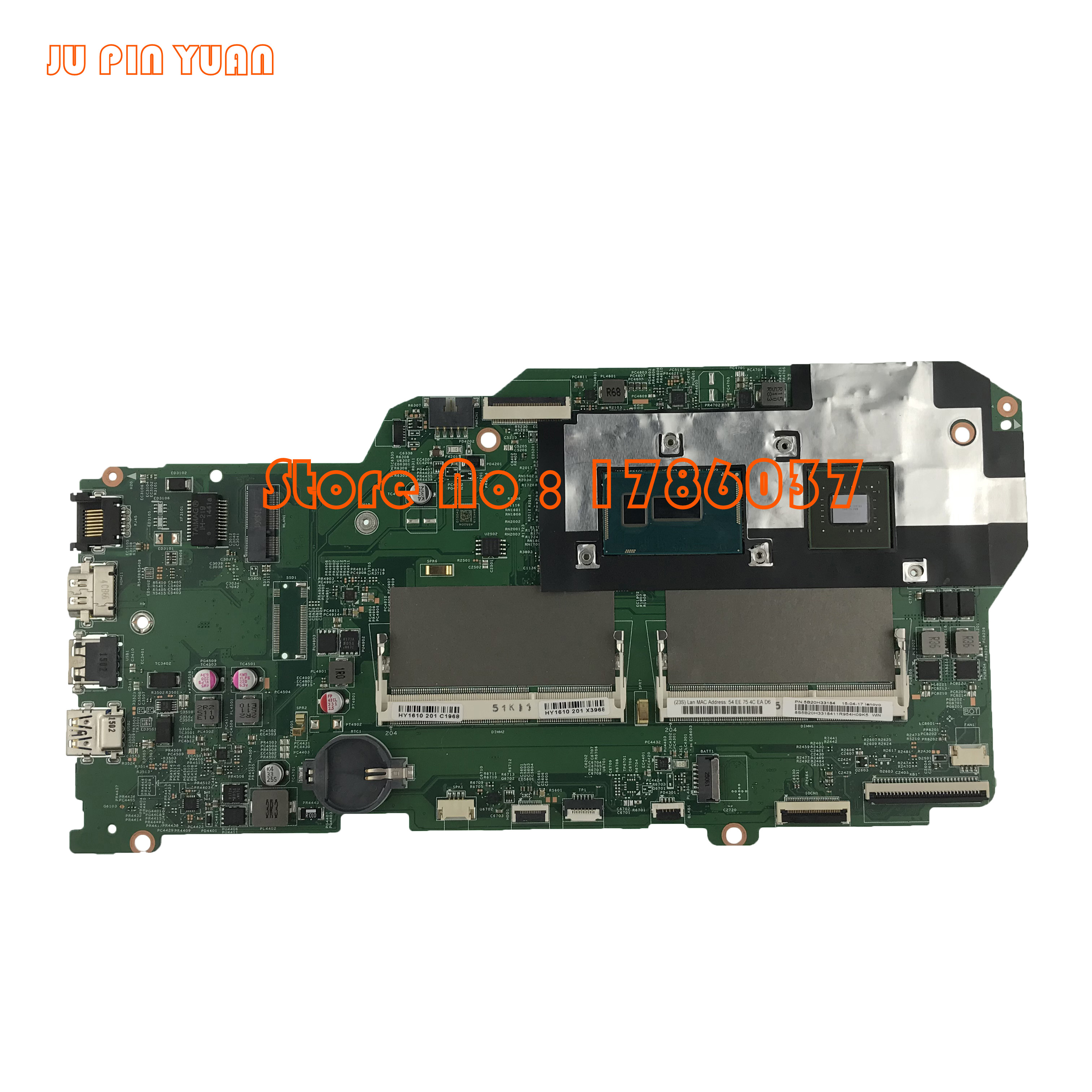 JU PIN YUAN 448.03G01.0011 5B20H33184 13286-1 Mainboard For Lenovo Flex 2 Pro Edge 15 Motherboard With I7-5500U CPU 840M 2GB