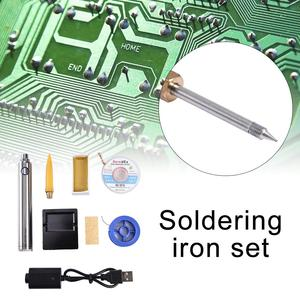 Image 5 - 5V 8W Mini Portable Wireless Soldering Iron Pen Welding Set Rechargeable Battery Soldering Iron And USB Soldering Hand Tool Kits