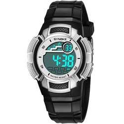 Водонепроницаемый модный детский спортивный почасовой Chime цифровой секундомер наручные часы в подарок