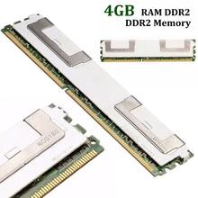 New Professional 4GB Memory Ram DDR2 5300F 667Mhz 1.8V ECC 240 Pin CL5 For Desktop Mayitr