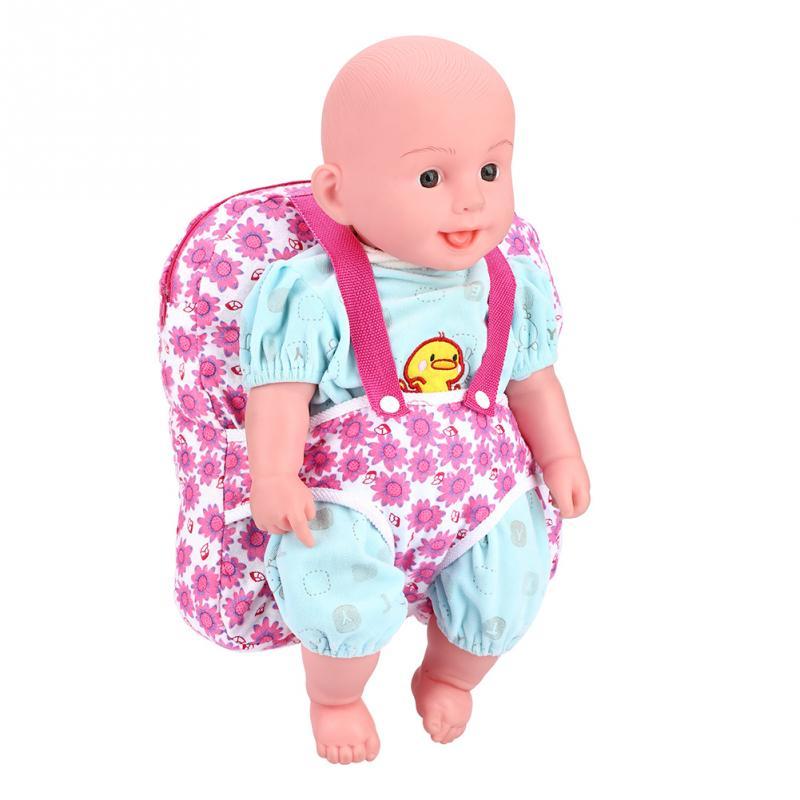 Toddler Baby Dolls Carrier Bag Children Kids Backpack