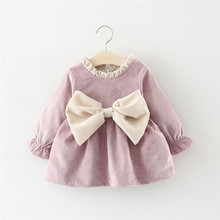Pink Purple Toddler Baby Girl Kids Big Bow Warm Party Weddin