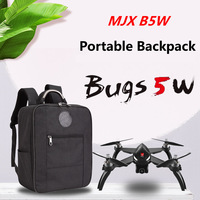 Anti Shock Waterproof Durable Backpack For MJX Bugs 5W B5W Drone Carrying Bag Protective Storage Quadcopter Oxford Cloth+EVA