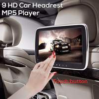9'' Car Headrest Monitor DVD MP5 Player USB/SD/HDMI/FM/Game Car Digital Screen Audio Video Radio Stereo Remote Control