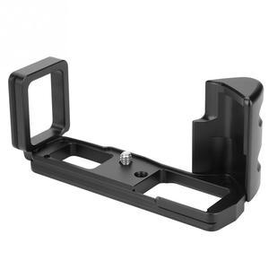 Image 4 - Aperto vertical do suporte da câmera em forma de l do qr da liberação rápida durável para câmeras de olympus em10 iii