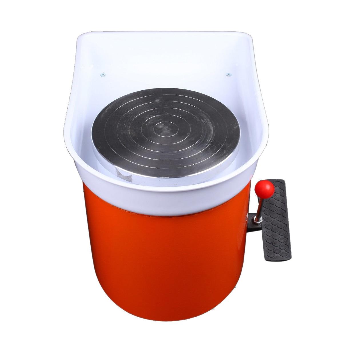 250 W 220 V poterie roue en céramique argile Machine pied pédale en céramique argile Art moule pour le travail de la céramique - 4