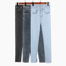 Spring Fashion Women Elastic High Waist Skinny Stretch Jean Female Autumn Pencil Jeans Pantalones Mujer
