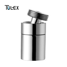 TULEX водосберегающий кухонный аэратор 16 мм Мужской резьбовой смеситель Поворотный аэратор Латунь Биде кран Носик пузырьковый фильтр для крана