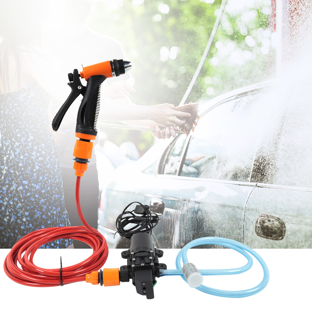 Car Washer Multifunctional Washer Pump Cleaning Tool Auto Washing Device Portable Car Electric Cleaner