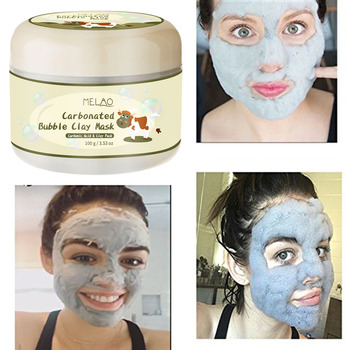 Carbonated Bubble Clay Mask Winter Deep Cleaning Moisturizing Skin Care  stickers cleansing blackheads remover cosmetics  anti