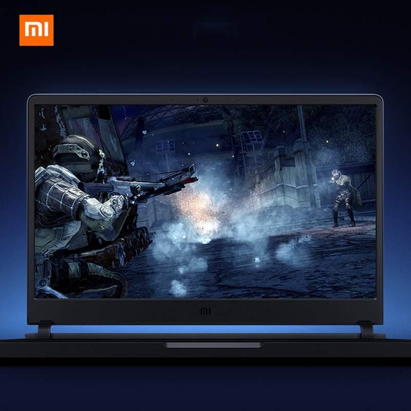 XiaoMi ordinateur portable de jeu 6 GB GDDR5 16GB-RAM DDR4 256 GB 1 to HDD Original Intel Core I7-8750H GTX 1060 15.6 pouces Xiaomi ordinateur portable de jeu