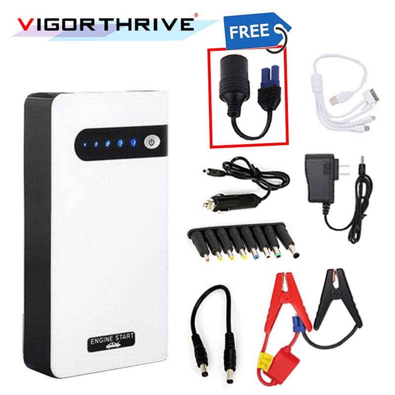 Démarreur de voiture batterie externe Portable chargeur de batterie de véhicule puissance de démarrage 12 V Mini urgence pour voiture