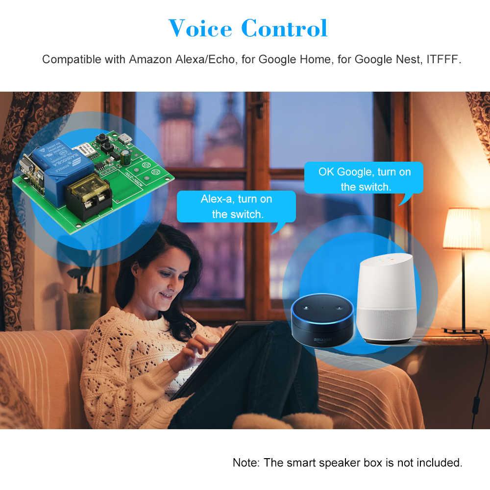 USB DC5V 30A Wifi Interruttore Modulo Relè Senza Fili Smart Smart home, Moduli Automazione per Sistema di Controllo di Accesso Del Portello Del Garage di Impulsi