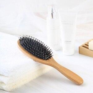 Image 3 - Bristle Brush Prevent Hair Loss Comb Mi Home Portable Care Beauty Anion Hair Care Scalp Massage Anti static Comb Tool