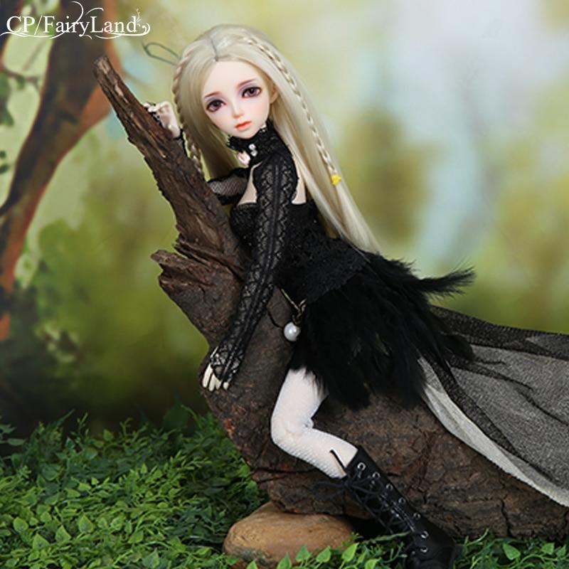 Nouveauté BJD poupée Minifee Rens 1/4 héroïne Swordswoman impératrice d'épée Figure Flexible jouet féminin pour fille Fairyland FL - 3