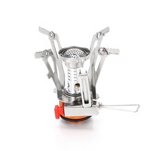 VIM Outdoor Camping Gas Stove Outdoor Cooking Portable Foldable Split Burner 3000W/3500W Stainless Steel Stove BBQ Pinic цена и фото
