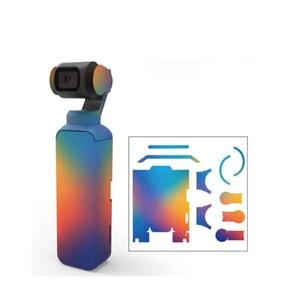Image 4 - พรางสีสันสดใส Decals กล้องป้องกันฟิล์มสติกเกอร์กันน้ำสำหรับ DJI OSMO Pocket Handheld Gimbal อุปกรณ์เสริม