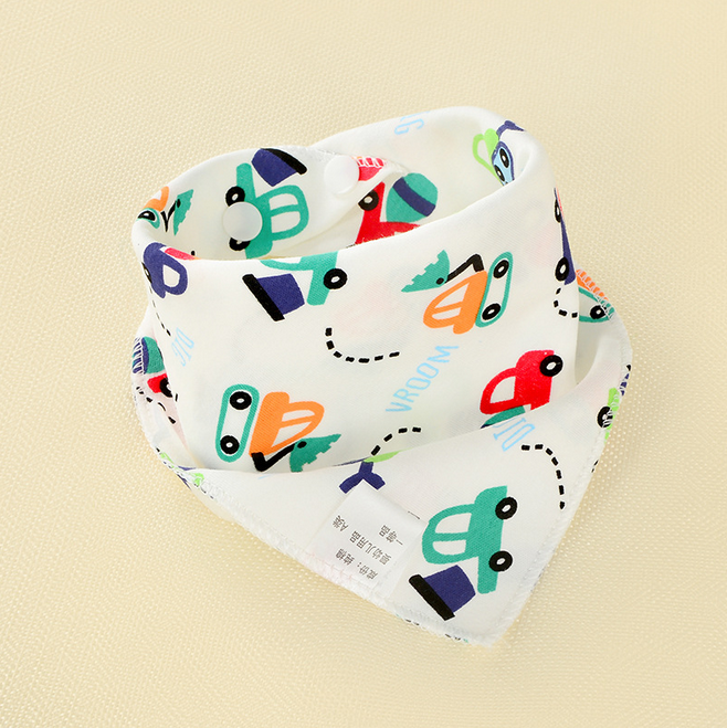 2019 Baru 1 Pcs Bayi Anak-anak Bayi Anak Unisex Feeding Air Liur Handuk Menggiring Bola Bandana Oto Bersendawa Kain Bayi Hadiah
