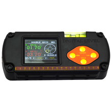 Precision Digital Protractor Inclinometer Dual Axis Level Measurebox Angle Ruler Elevation Meter Us Plu