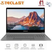 Teclast F15 Notebook 15.6 inch 1920 x 1080 IPS Windows 10 Intel N4100 Quad Core 1.1GHz 8GB RAM 256GB SSD HDMI 6000mAh Laptop