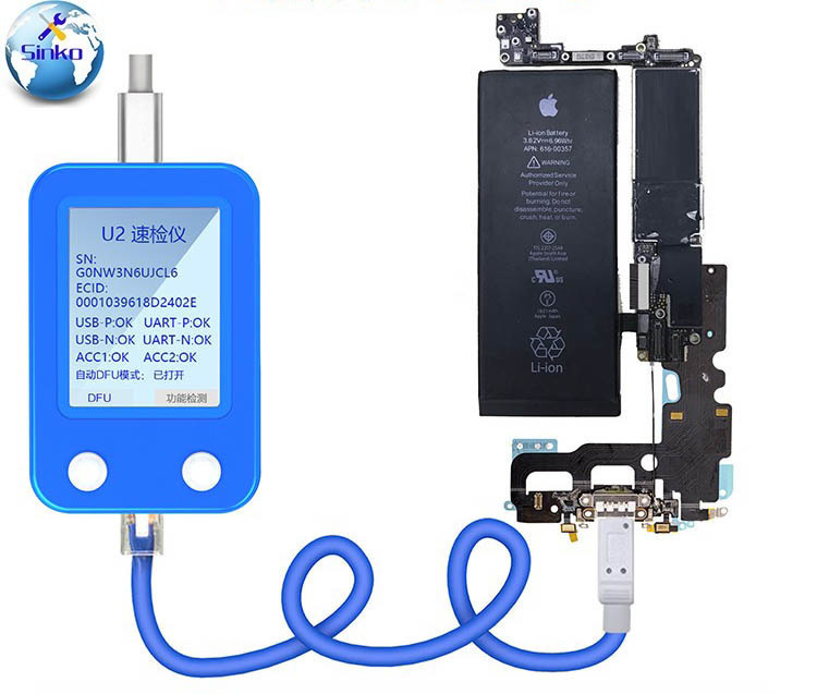 JC U2 Fast Detector For IPhone U2 Charge IC Fault Fast