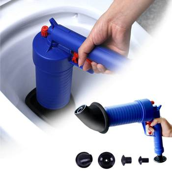 toilet dredge plug air pump blockage remover and sewer sinks blocked cleaning tool for bathroom