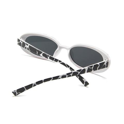 Style Oval Sunglasses Women Vintage Retro Round Frame White Mens Sun Glasses Female Black Hip Hop Clear Glasses UV400 Islamabad