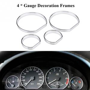 4pcs Car Front Dashboard Speed