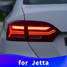 Хвост светильник в сборе для Volkswagen Jetta 2012 2013 светодиодный вождения светильник светодиодный стоп-сигнал светильник светодиодный поворотник